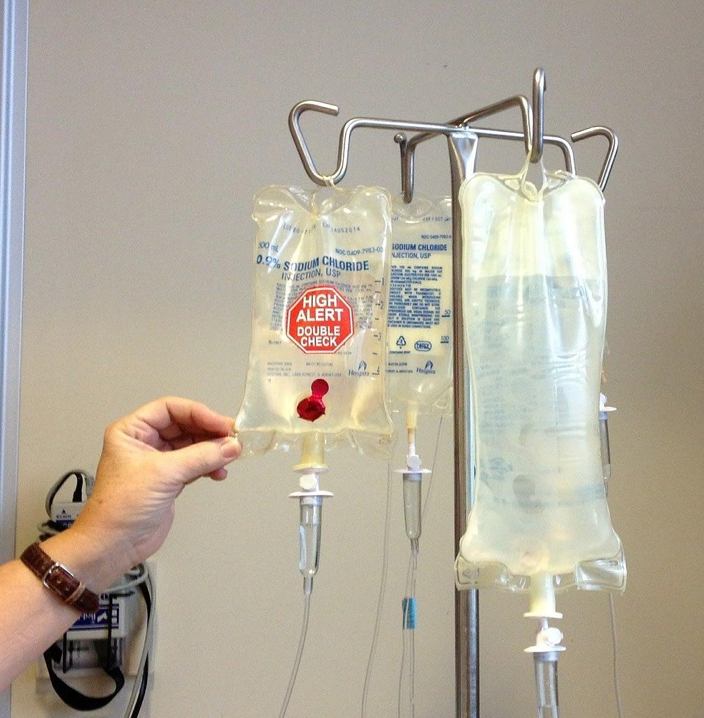 Starting chemotherapy