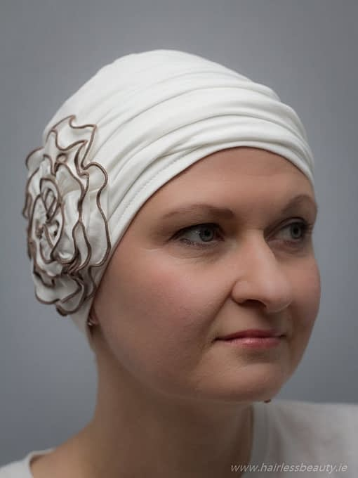 Petunia   Hats and turbans for chemo and alopecia patients