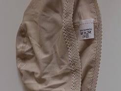 Wig cap lace beige
